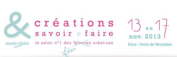 Salon cr ations et savoir faire relations presse salon - Salon creation et savoir faire invitation ...